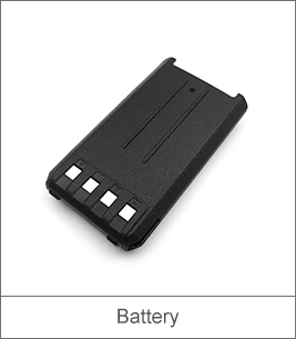 UHF Walkie Talkie Battery